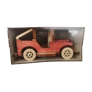 ماشین جیب چوبی