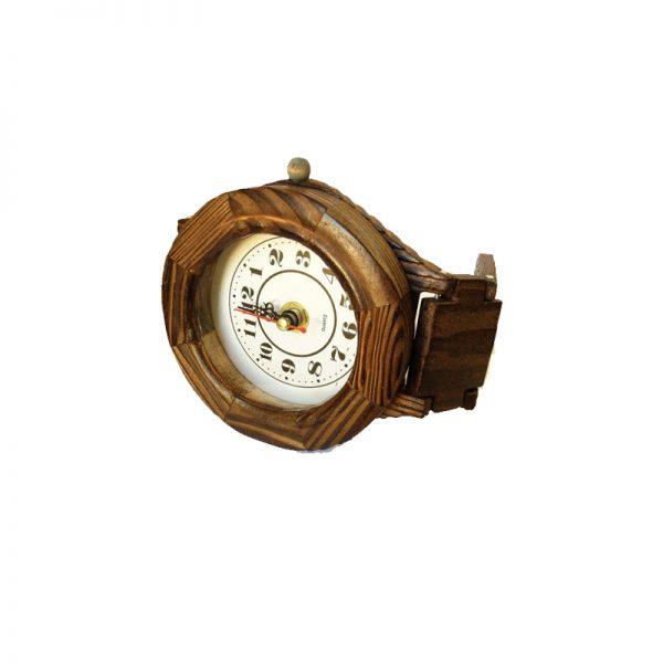 ساعت دیواری چوبی کوچک