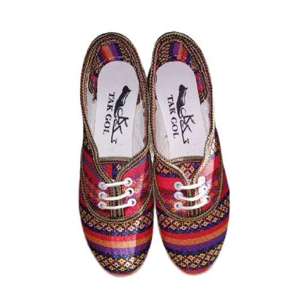 کفش جاجیم زنانه طرح دار