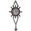 ساعت لنگری چوبی