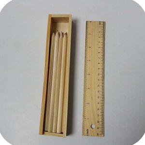 مداد رنگی چوبی جعبه