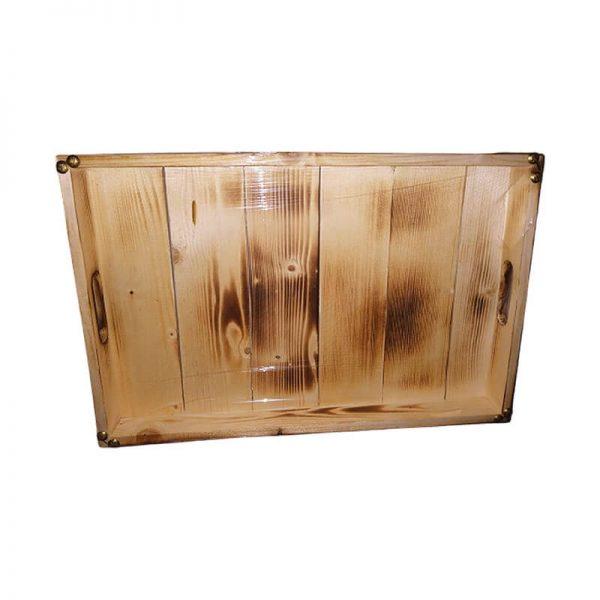 سینی چوبی مستطیلی