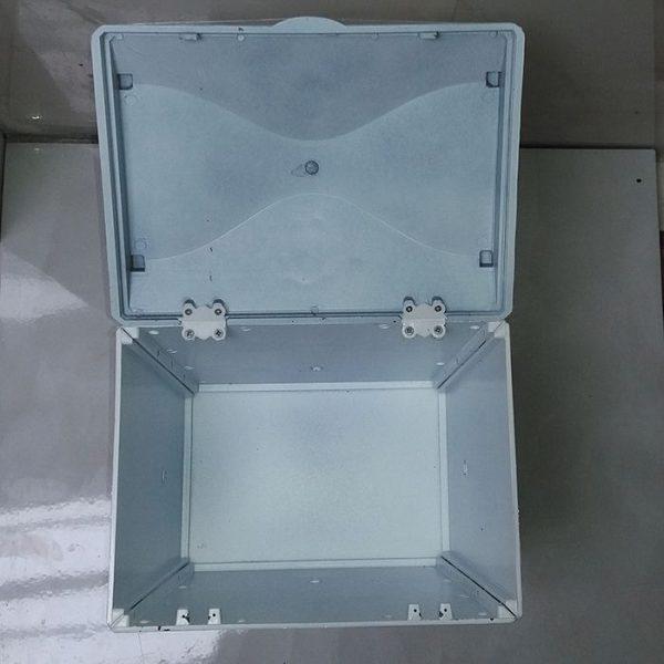 سطل و جادستمال کاغذی پلاستیک فشرده سفید