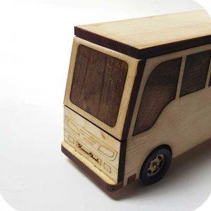 اتوبوس اسکانیا چوبی