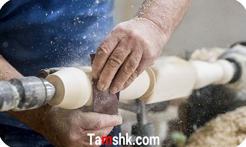 خراطی چوب   صنایع دستی چوب