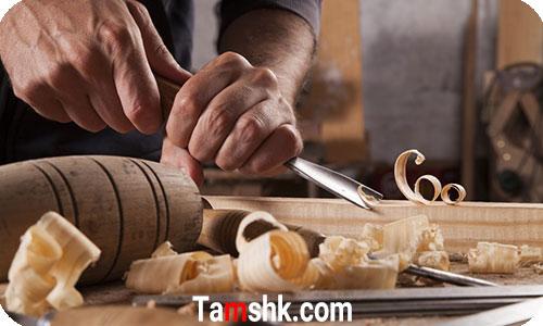 پیکرتراشی چوبی